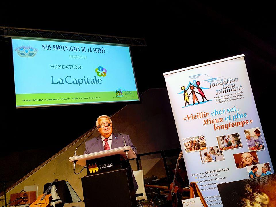 . Jean-Louis Bazin président de la Fondation Cap Diamannt