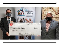 Merci à Fonds « SVP-Denis White » de la famille Centraide Québec et Chaudière-Appalaches.
